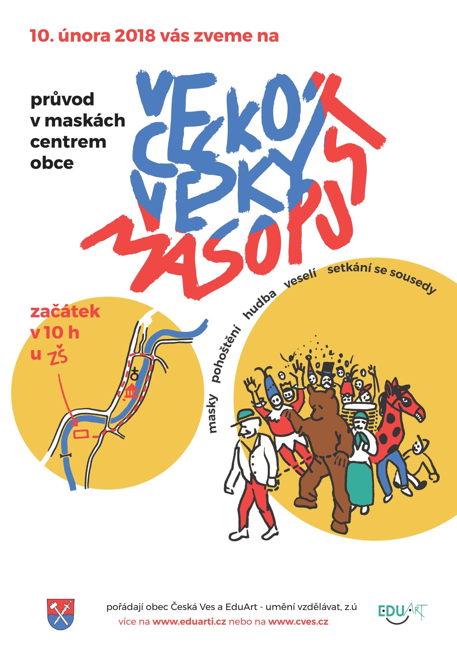 Českoveský masopust 2018